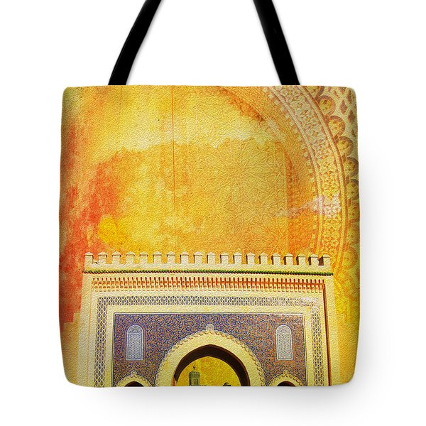 Medina Of Faz Tote Bag by Catf