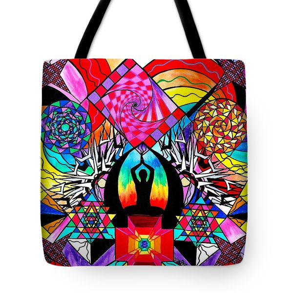 Meditation Aid Tote Bag