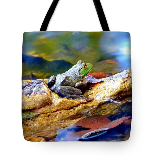 Tote Bag featuring the photograph Meditation by Deena Stoddard