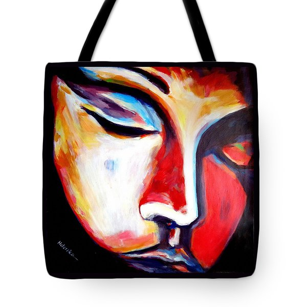 Tote Bag featuring the painting Meditation by Helena Wierzbicki