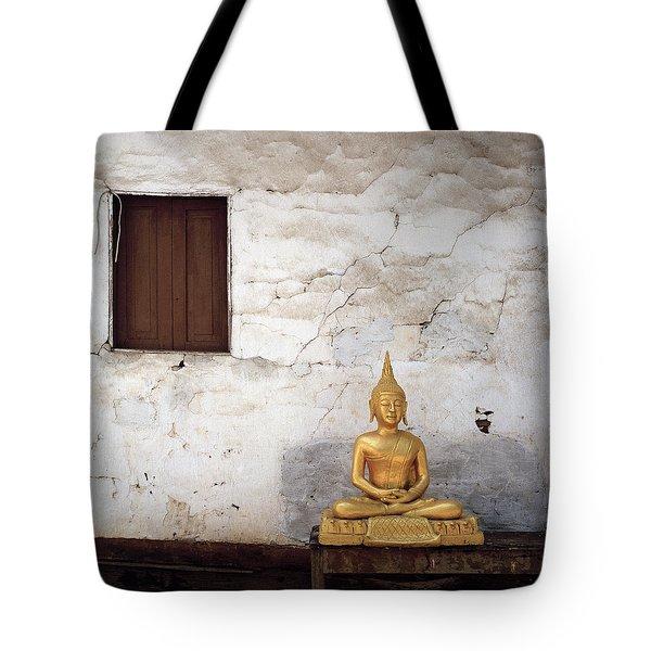 Meditation In Laos Tote Bag