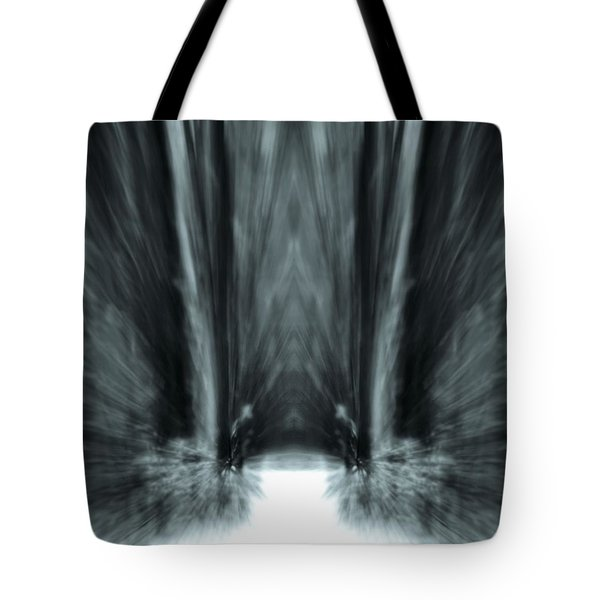 Meditation In The Forest Tote Bag by Dan Sproul