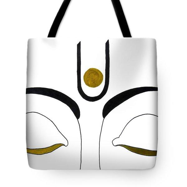 Meditation Tote Bag by Kruti Shah