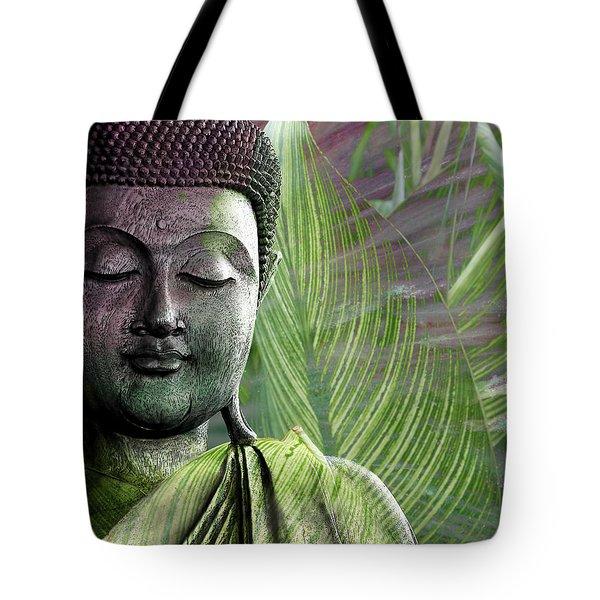 Meditation Vegetation Tote Bag