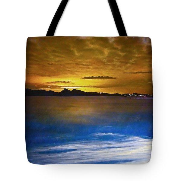 Mediterranean Sunrise Tote Bag