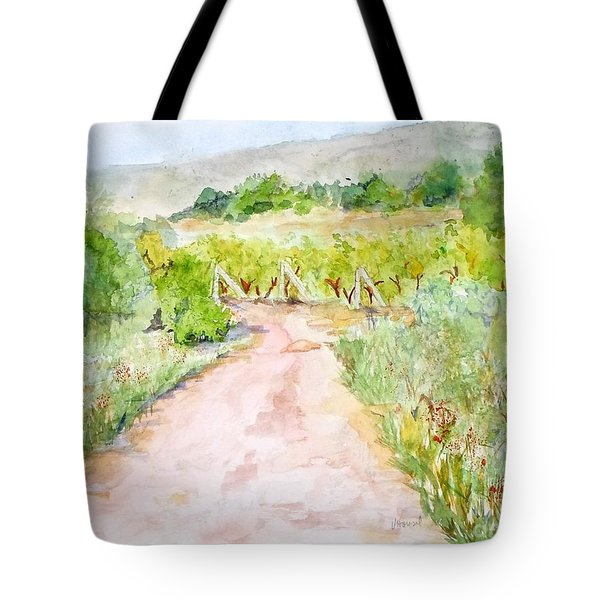 Medjugorje Path To Apparition Hill Tote Bag