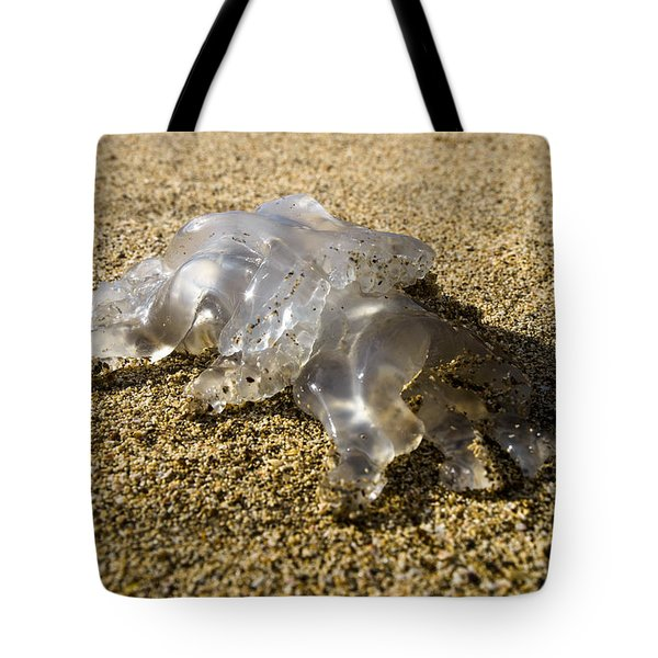 Tote Bag featuring the photograph Medusa by Michael Goyberg