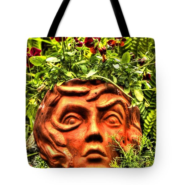 Tote Bag featuring the photograph Medusa  by Tyson Kinnison