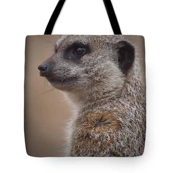Meerkat 9 Tote Bag