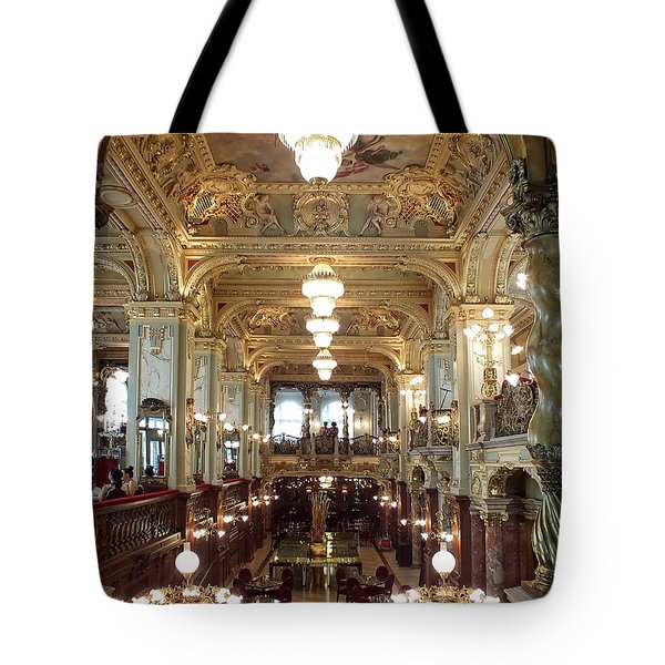 Meet Me For Coffee - New York Cafe - Budapest Tote Bag