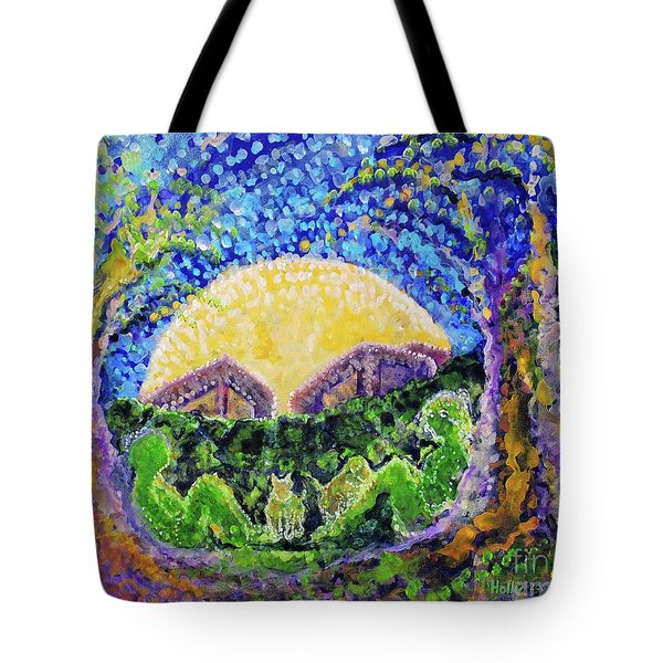 Meet Me Tote Bag by Holly Carmichael