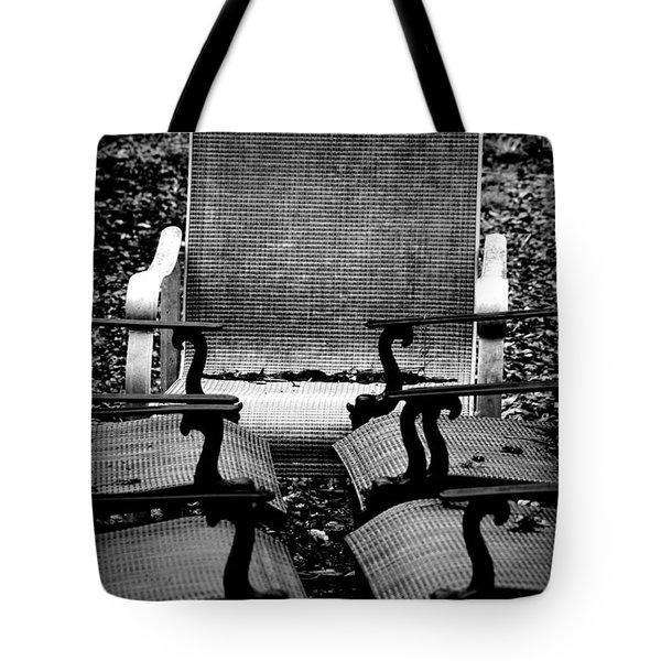 Meeting Adjourned Tote Bag by David Weeks