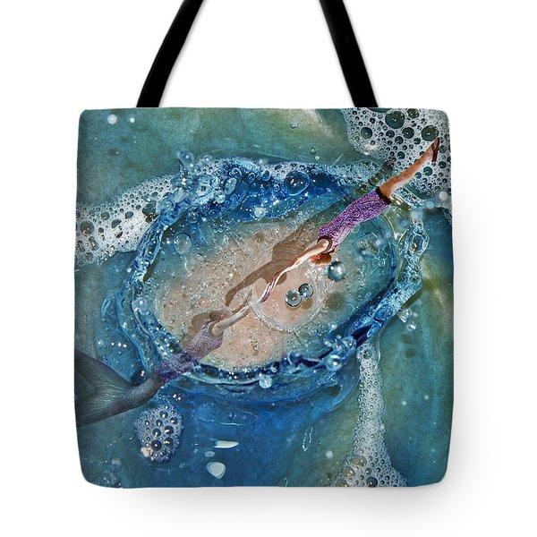 Meeting At The Surface Tote Bag
