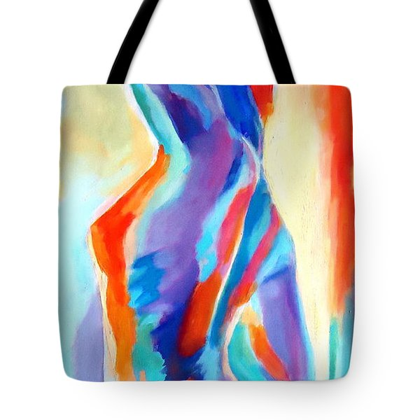 Meeting The Morning Tote Bag by Helena Wierzbicki