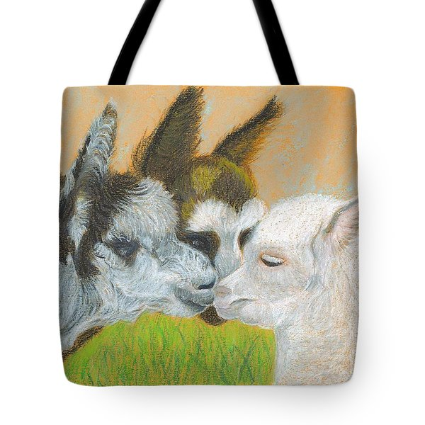 Meeting Uncle Al Tote Bag by Carol Wisniewski