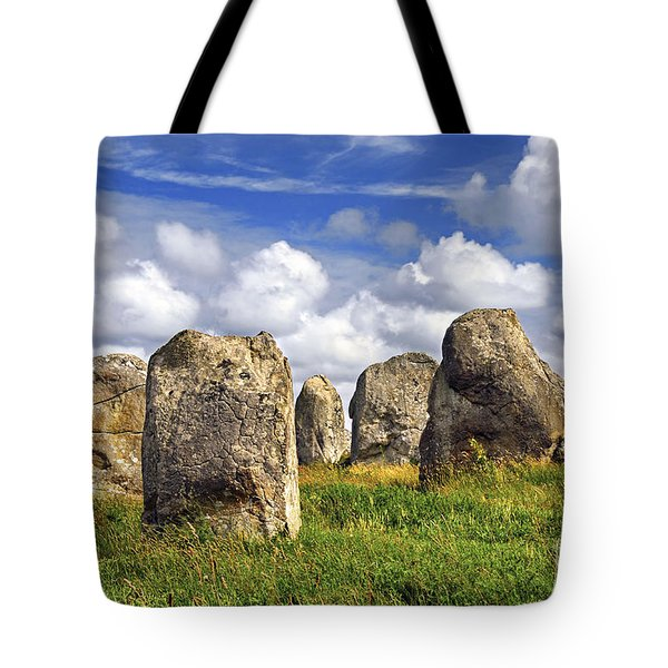 Megalithic Monuments In Brittany Tote Bag by Elena Elisseeva