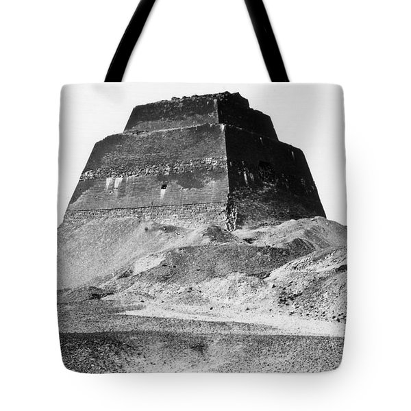 Meidum Pyramid, 1879 Tote Bag by Science Source