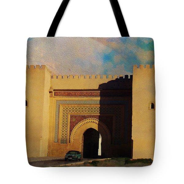 Meknes Tote Bag by Catf