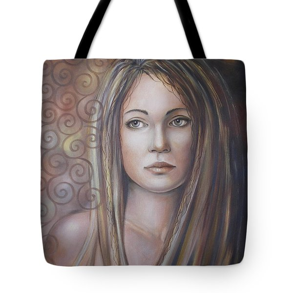 Melancholy 080808 Tote Bag by Selena Boron