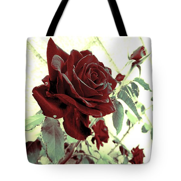 Melancholy Rose Tote Bag