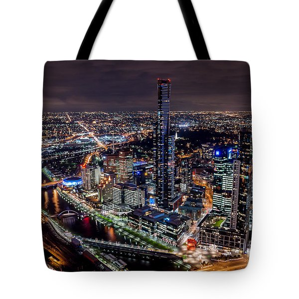 Melbourne At Night IIi Tote Bag