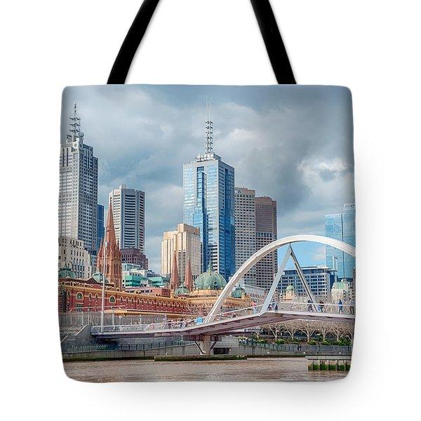 Melbourne Australia Tote Bag