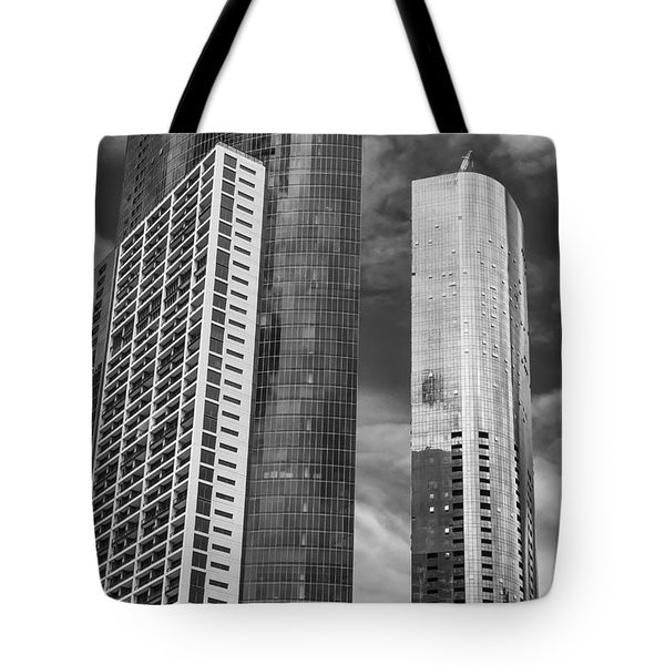 Melbourne Towers 2 Tote Bag