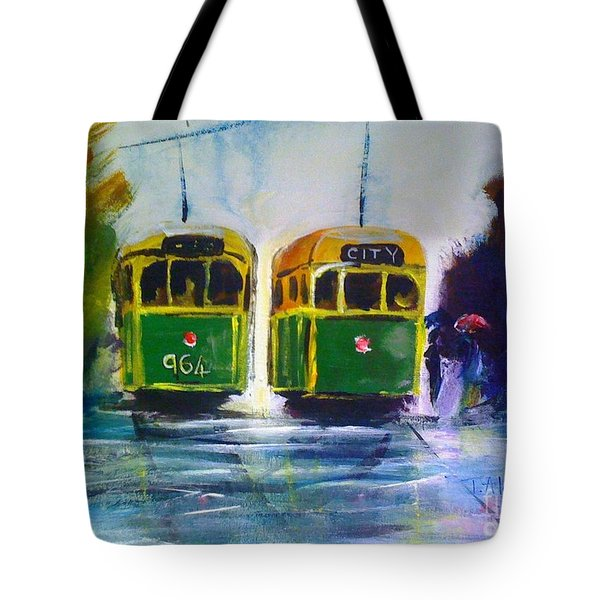 Melbourne Trams Tote Bag