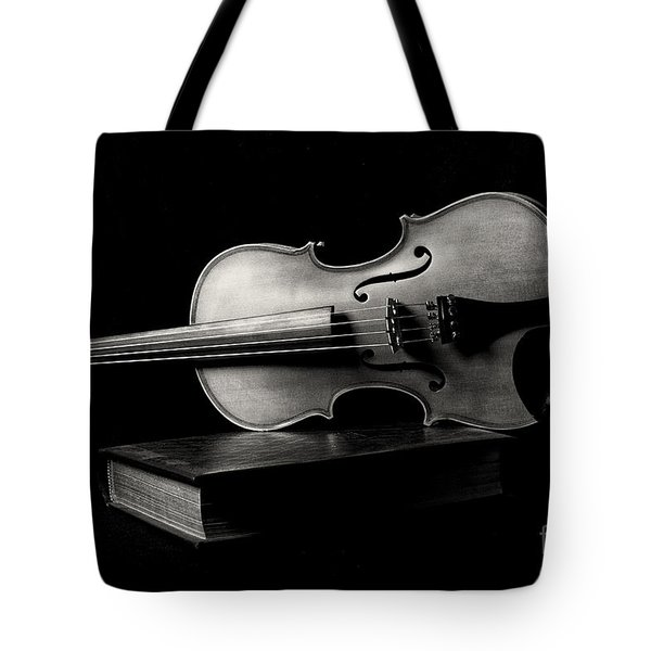 Melodiously Poetic Tote Bag by Erika Weber