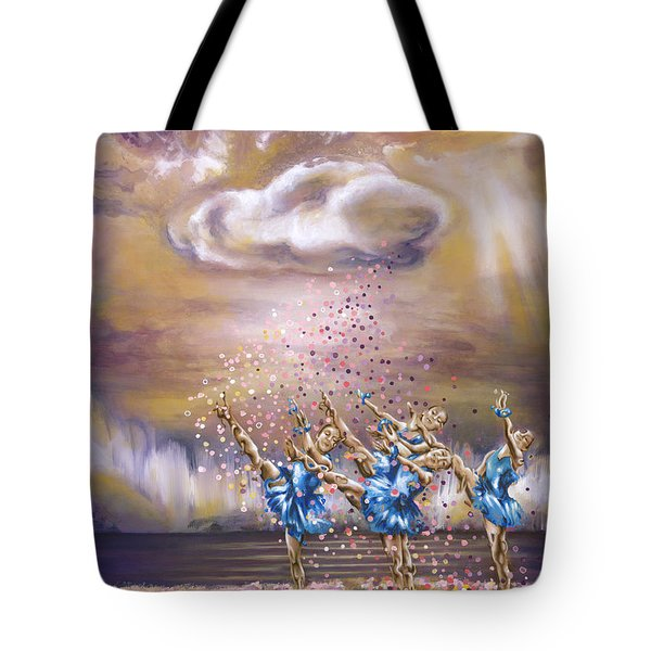 Melody Tote Bag by Karina Llergo