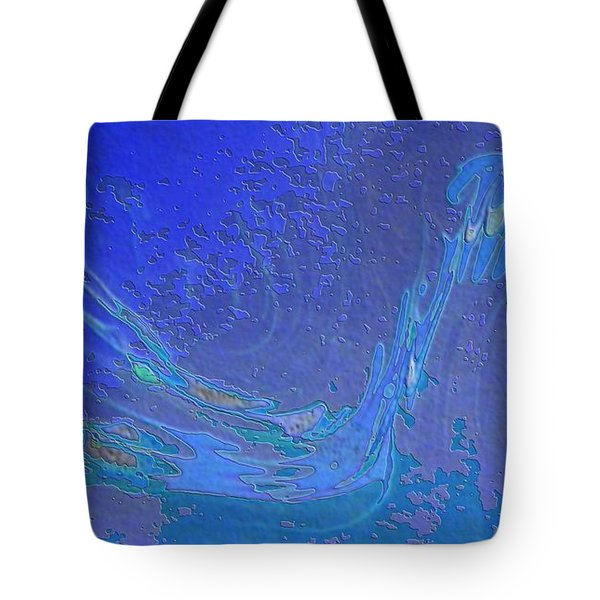 Tote Bag featuring the painting Melody by Mike Breau