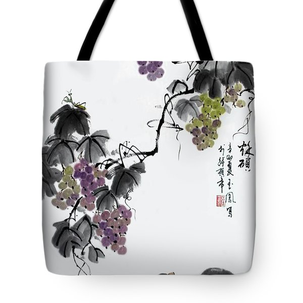 Melody Of Life II Tote Bag by Yufeng Wang