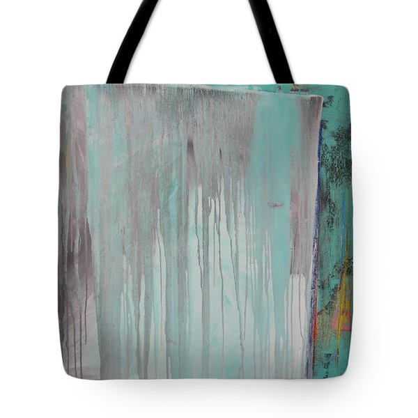 Tote Bag featuring the painting Melt  C2011 by Paul Ashby