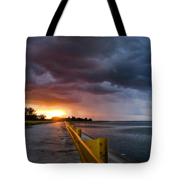 Melting Point Tote Bag by Davorin Mance