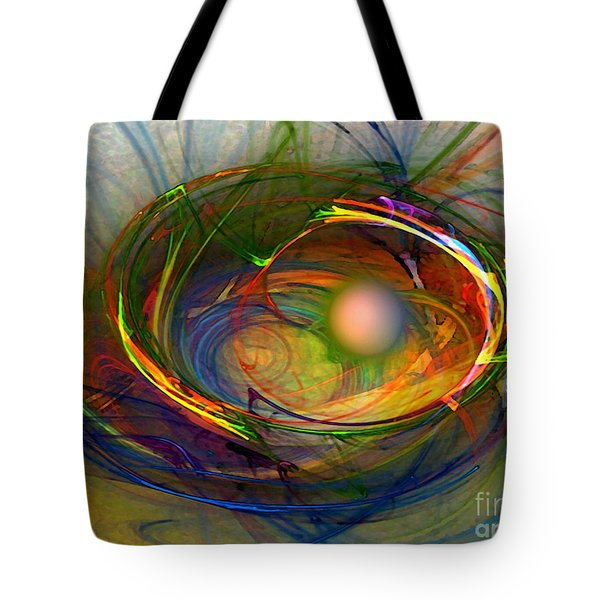 Melting Pot-abstract Art Tote Bag