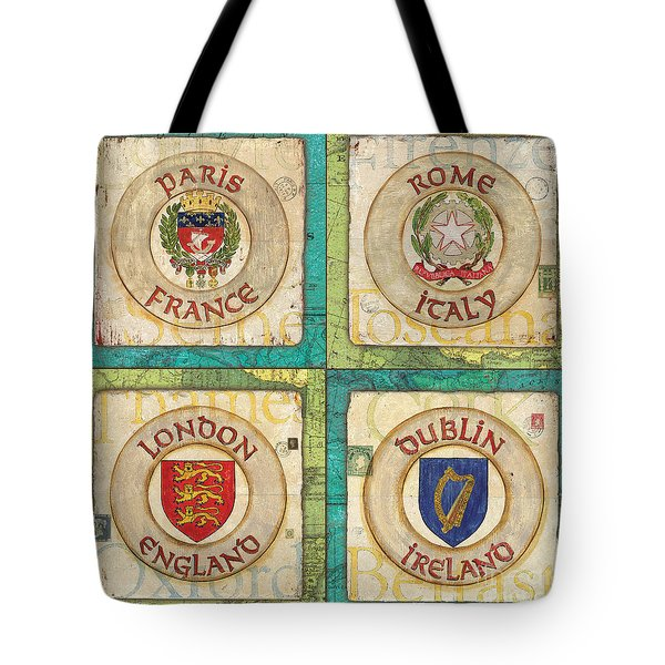 Melting Pot Patch Tote Bag