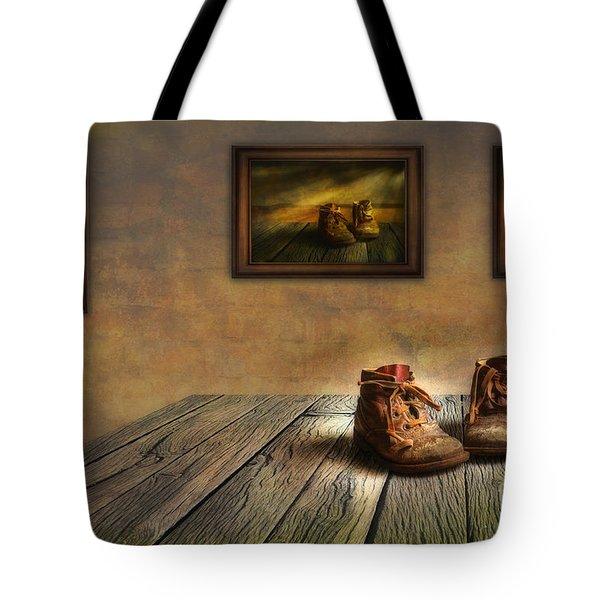 Mementos Exhibition Tote Bag by Veikko Suikkanen