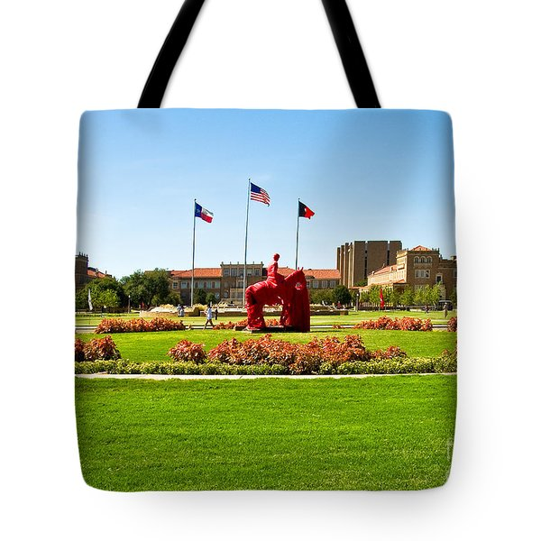 Tote Bag featuring the photograph Memorial Circle by Mae Wertz