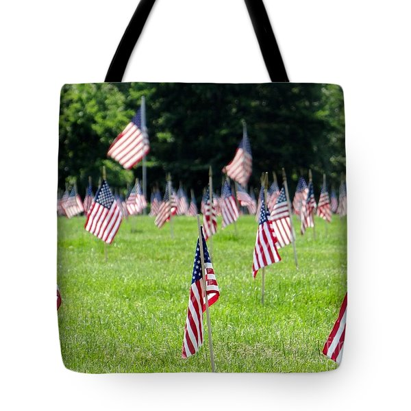 Tote Bag featuring the photograph Memorial Day by Ed Weidman