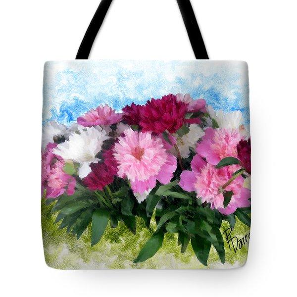 Memorial Day Peonies Tote Bag