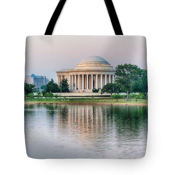 Memorial Sunset Tote Bag
