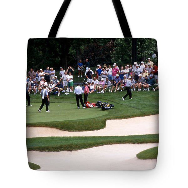 12w192 Memorial Tournament Photo Tote Bag