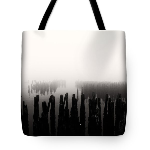 Memories And Fog Tote Bag by Bob Orsillo