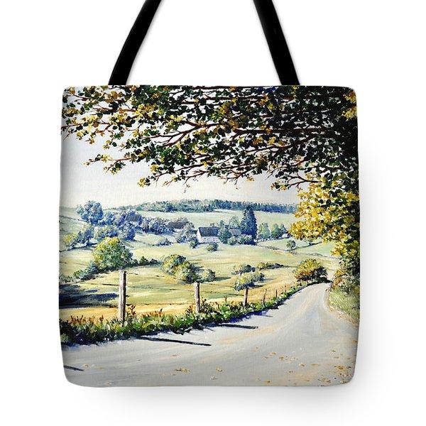 Tote Bag featuring the painting Memories by Heidi Kriel