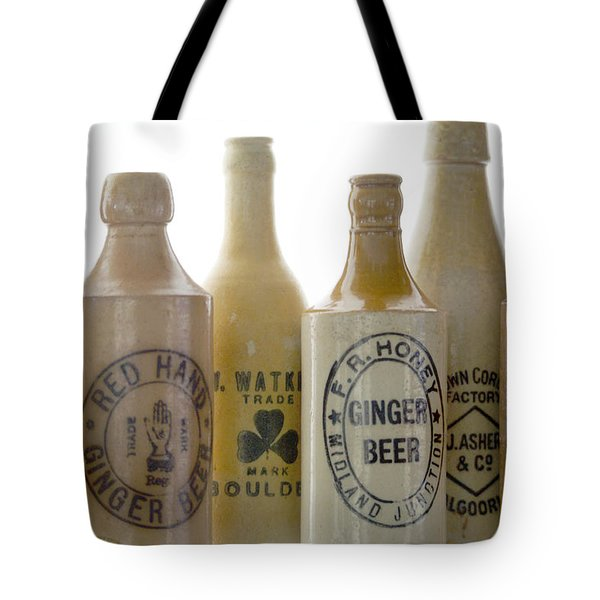 Memories In A Bottle Tote Bag by Holly Kempe