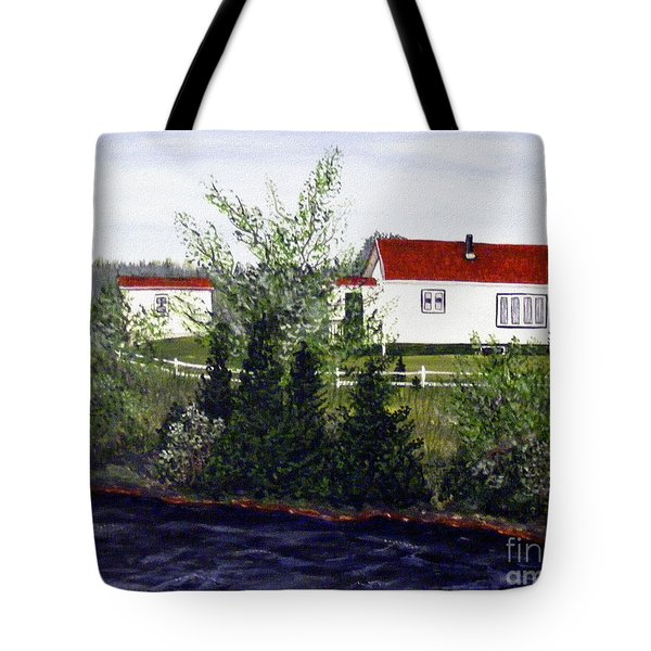 Memories Of Home  Tote Bag by Barbara Griffin