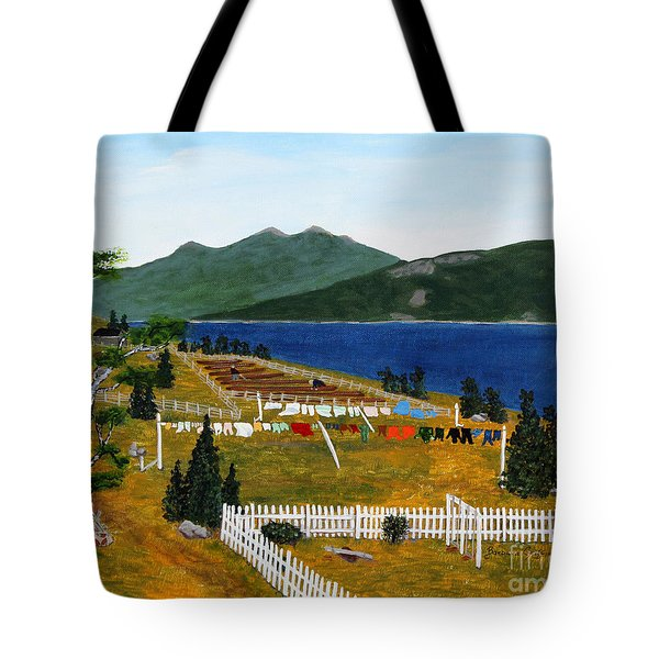 Memories Of Monday Tote Bag by Barbara Griffin