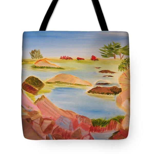 Memories Of Monterey Tote Bag by Meryl Goudey
