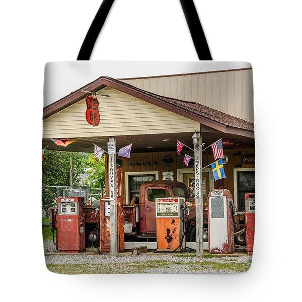 Memories Of Route 66 Tote Bag