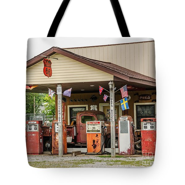 Memories Of Route 66 Tote Bag
